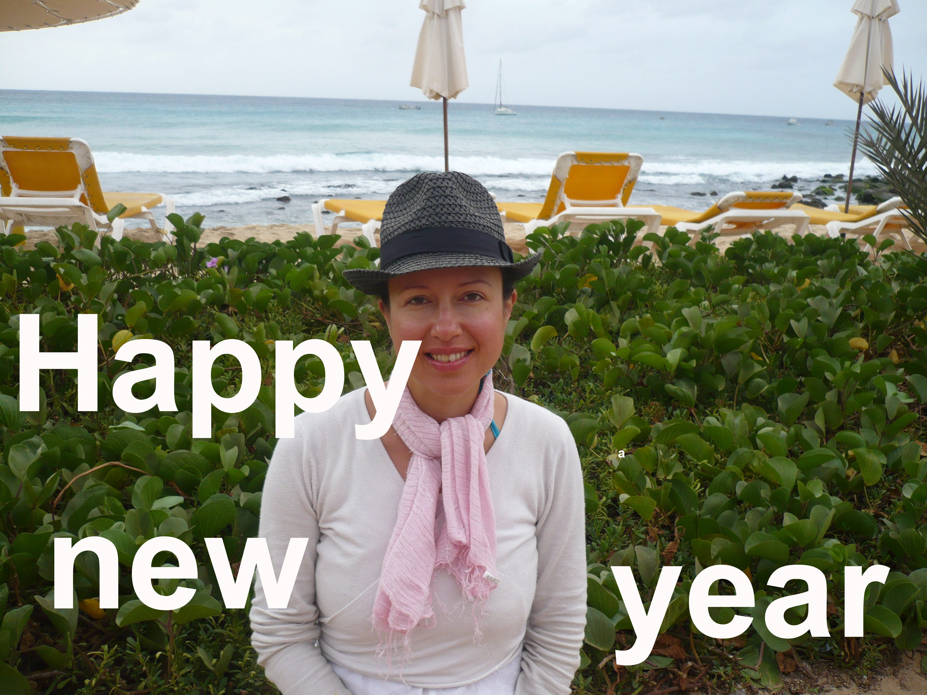 Happy New Year from Claire Samuel