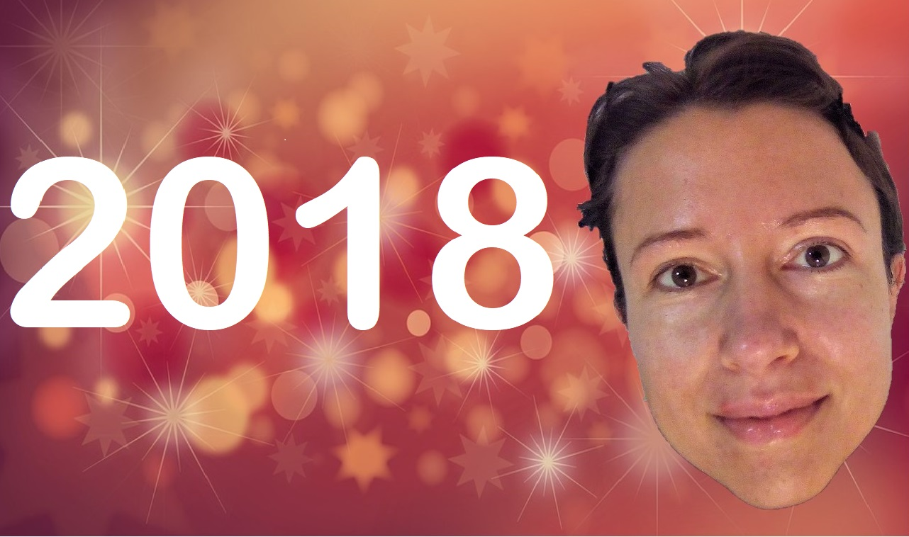 Happy New Year 2018 my friend my sister from Claire Samuel
