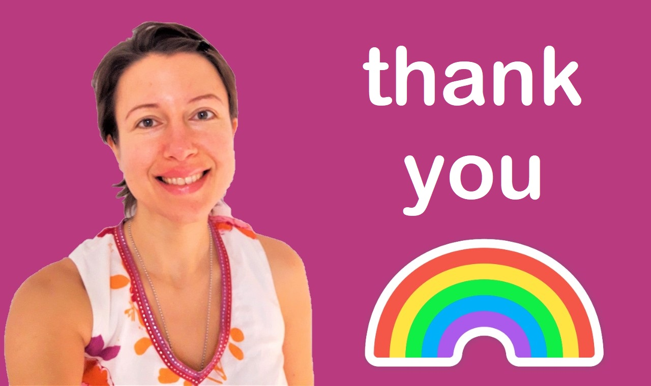 Thank you from Claire Samuel