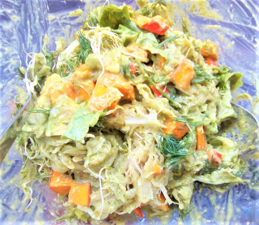 The best #dill salad ever for a beautiful Saturday - Claire Samuel