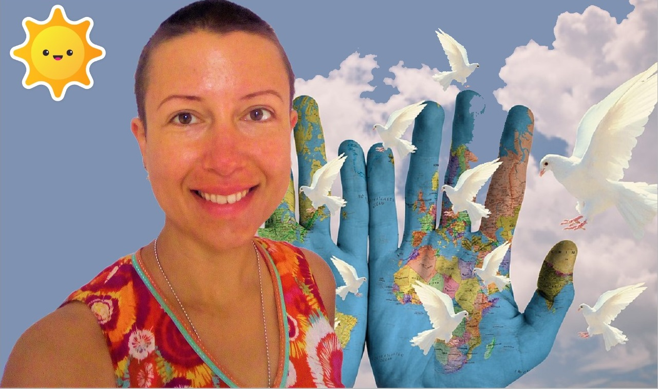 Can we imagine there are no #borders nor countries? We are #one - Claire Samuel