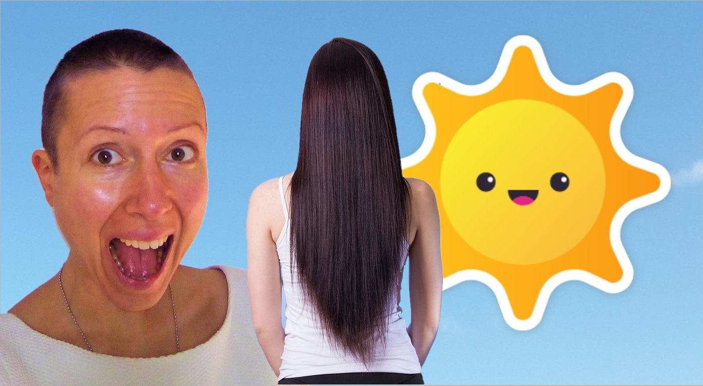 The sun makes #hair grow more rapidly Markus Rothkranz is right Claire Samuel