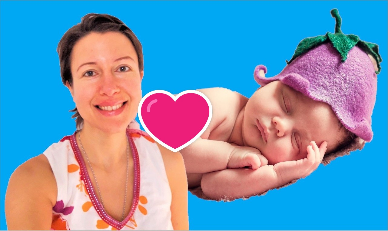 How to help newborn sticky eyelids for #breastfeeding mothers? An intuition story - Claire Samuel