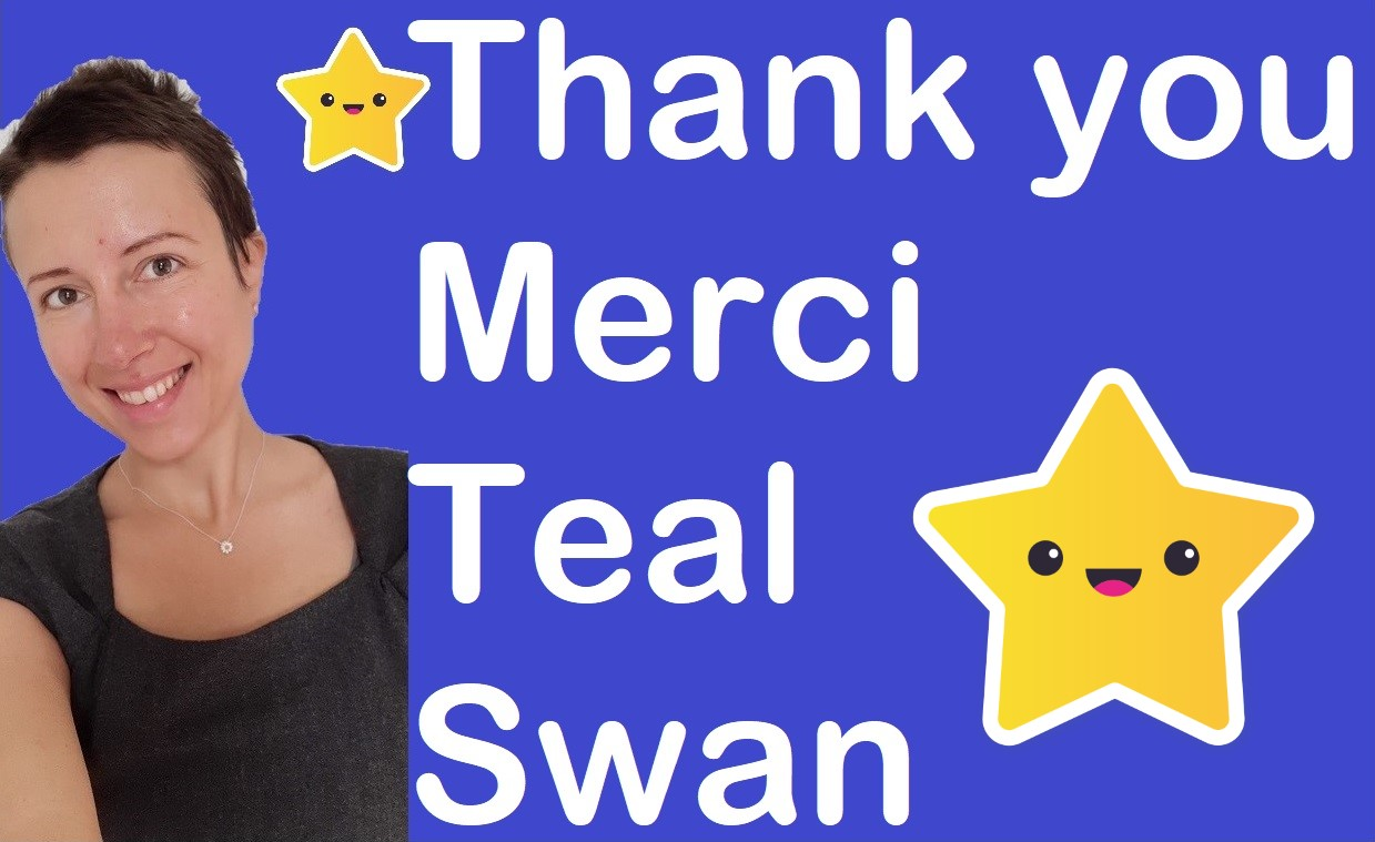 Thank you Teal Swan #acknowledgement and gratitude for an extraordinary woman Claire Samuel
