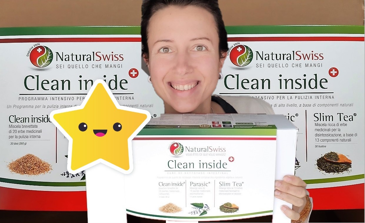 Unboxing of the #NaturalSwiss parasite cleanse treatment