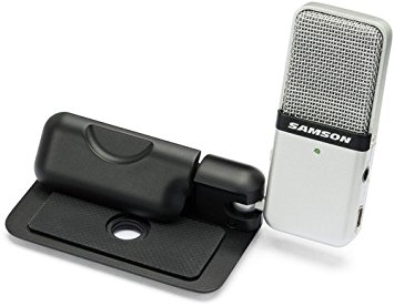 Samson Go Mic Portable USB Condenser microphone for the interviews face to face