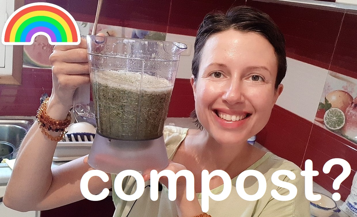 Why do our plants need a green smoothie? #compost