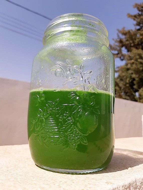The simplest #greenjuice or how self-care can be so easy