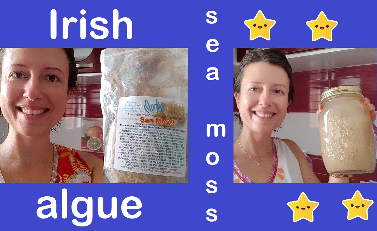 How to prepare Irish moss and make the most of its #collagen for our skin ?