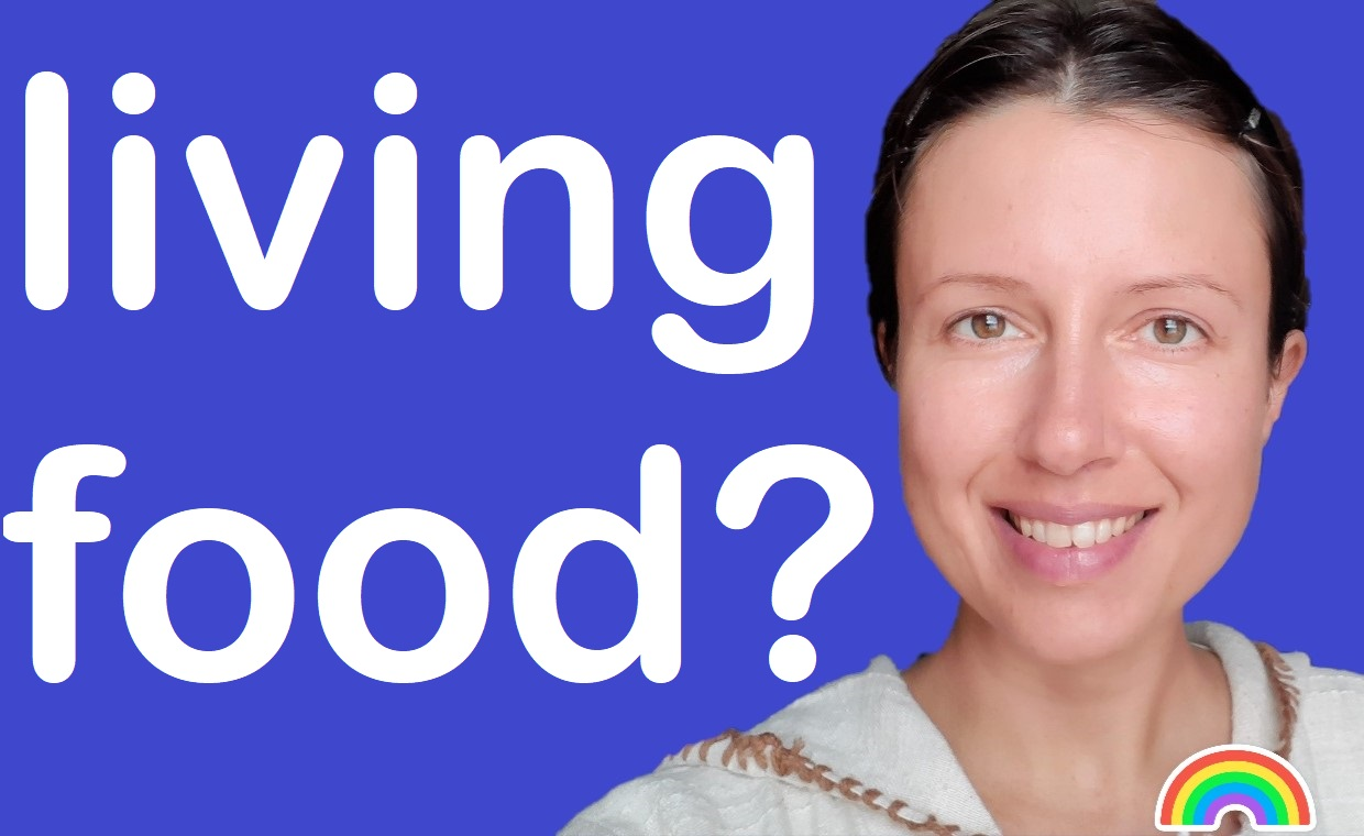 What is #livingfood and my great tip before starting
