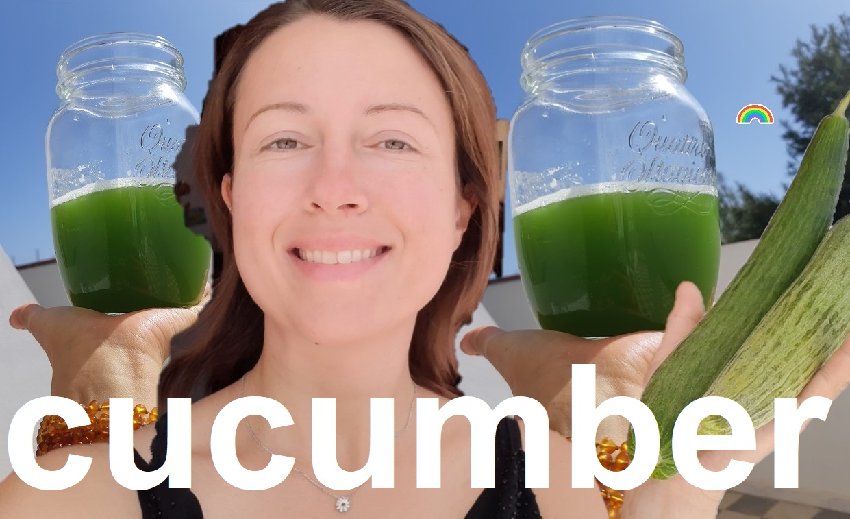 Pure cucumber #greenjuice is refreshing and remineralising
