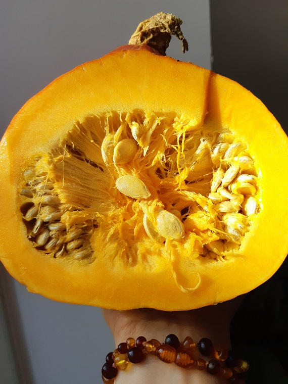 My nice #pumpkin winter #raw #soup for you