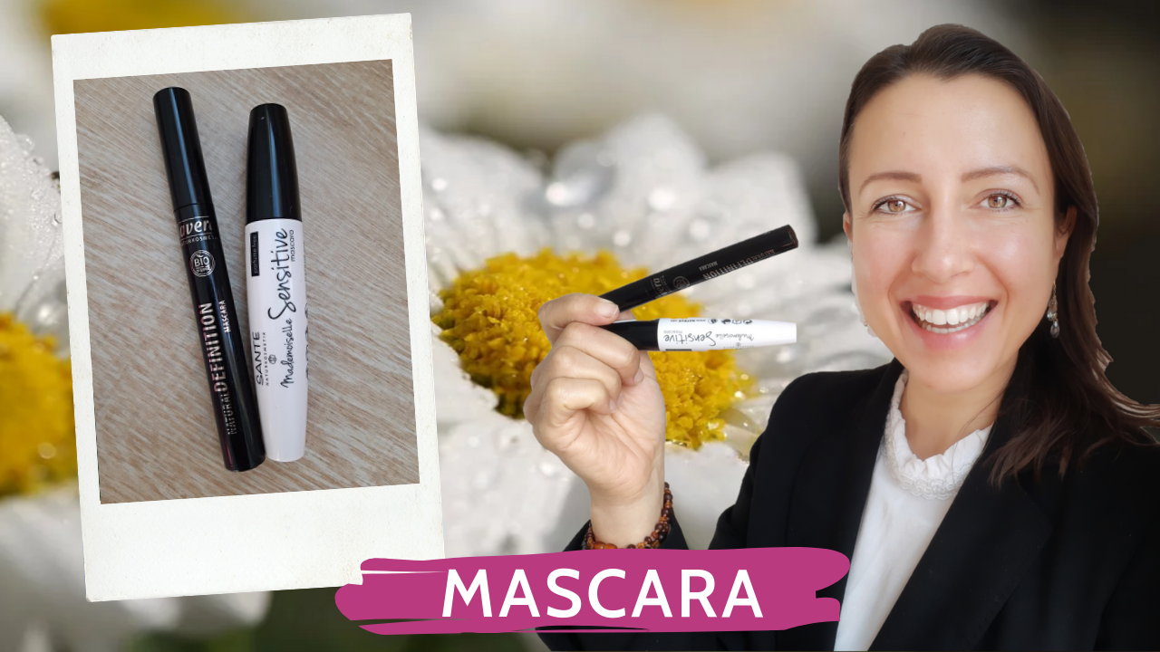 Beauty #review of two organic vegan #mascaras special small sensitive eyes and short eyelashes
