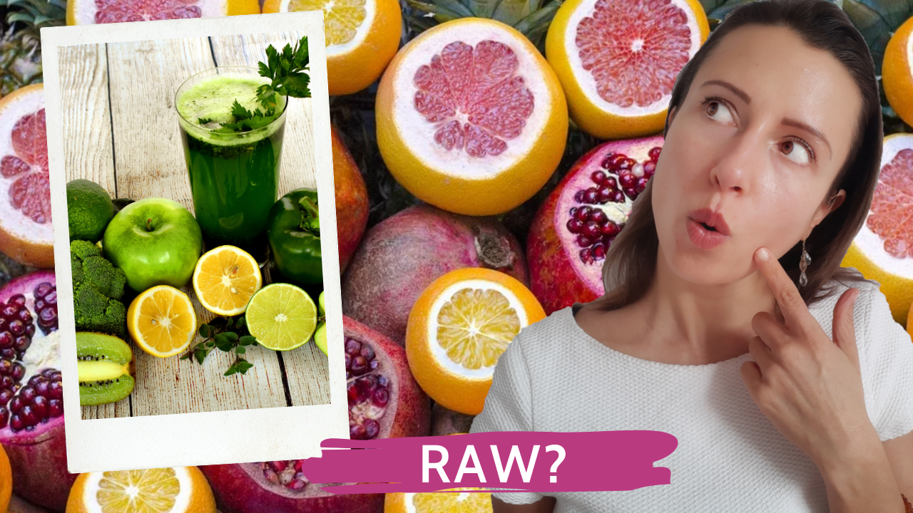 Why I switched to healthy raw food and living foods after an unexpected transition