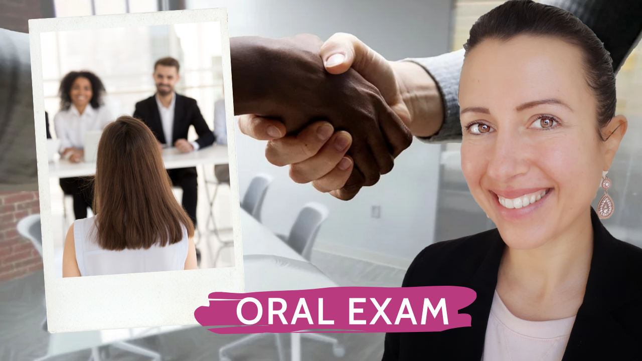 How to pass an oral exam or job interviews with success ? my four great tips