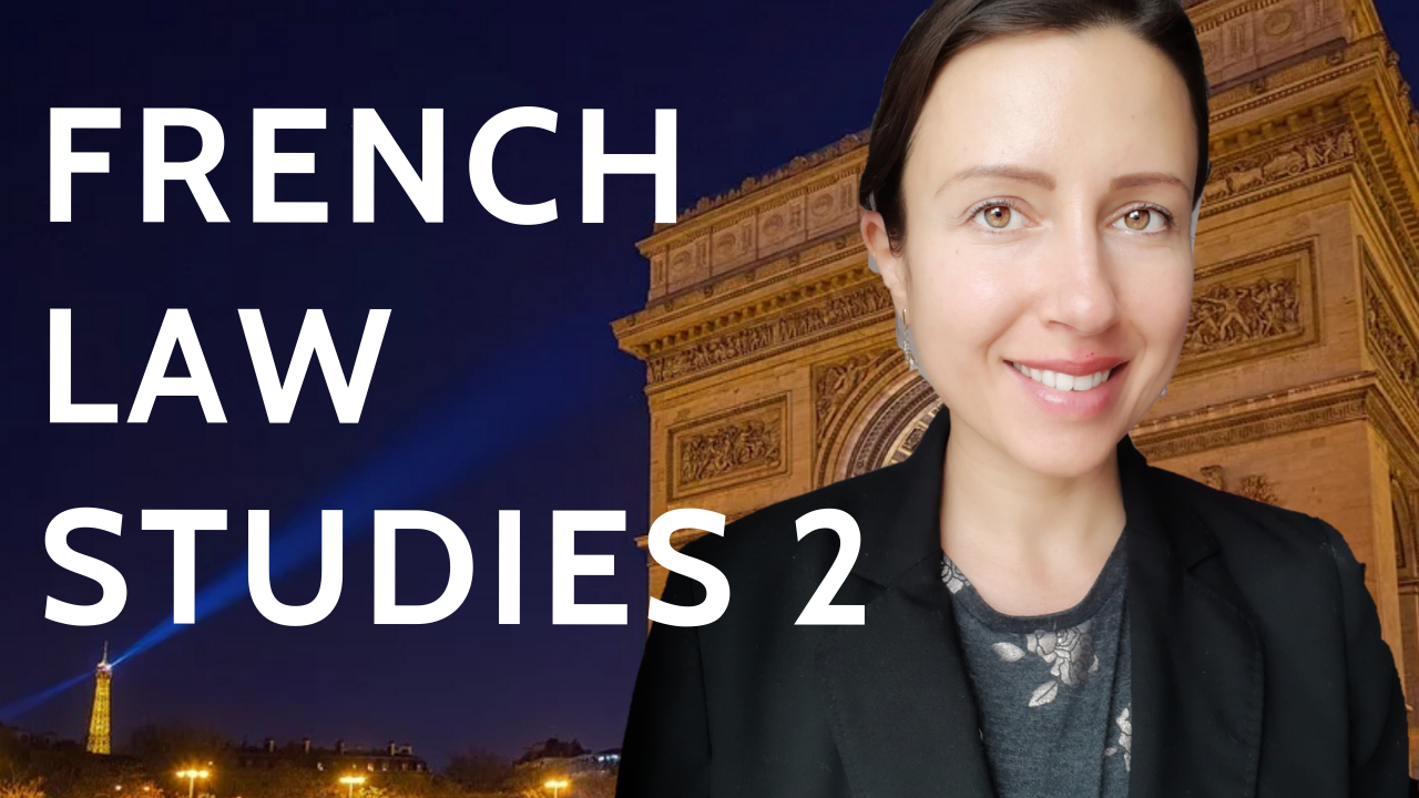 Books to study law in France for the second year of law at a French university or Licence 2