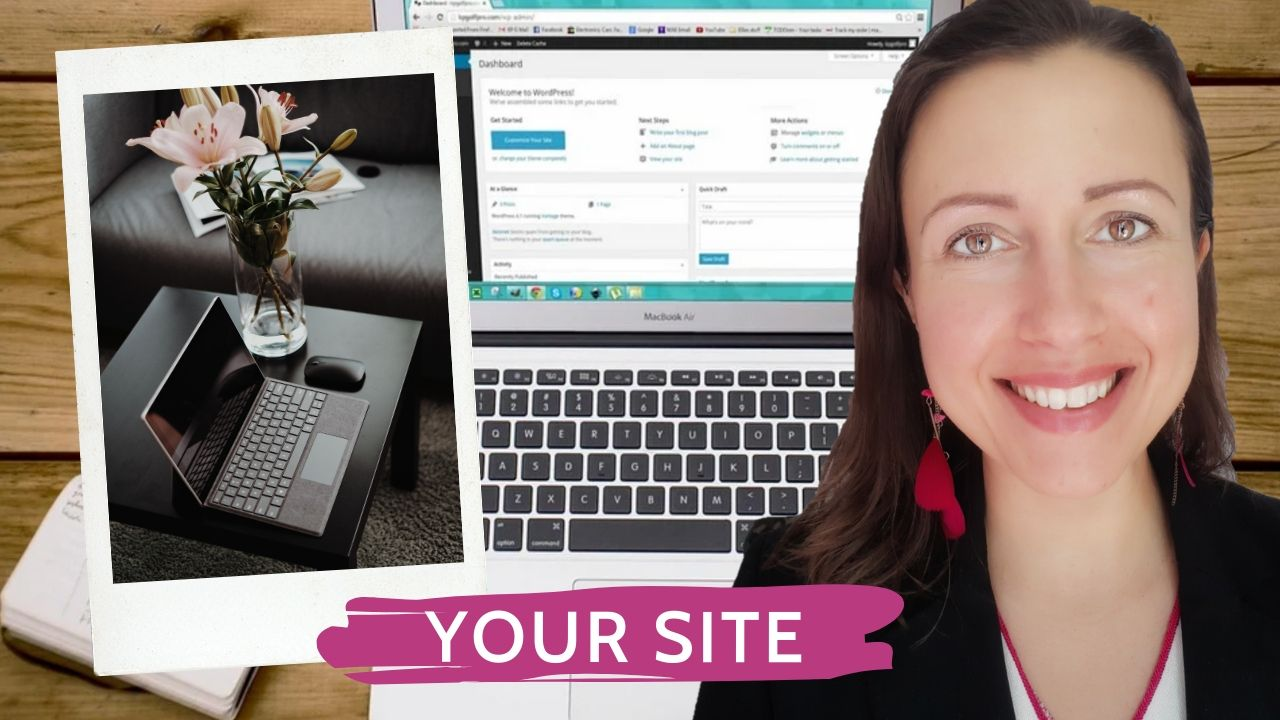 Create your website in 4 steps