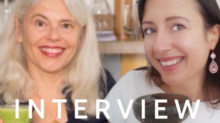 Eating raw is joy or interview with Anne-Marie from Cudivegan