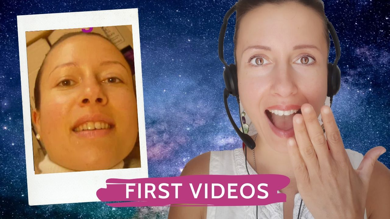I react to my first videos