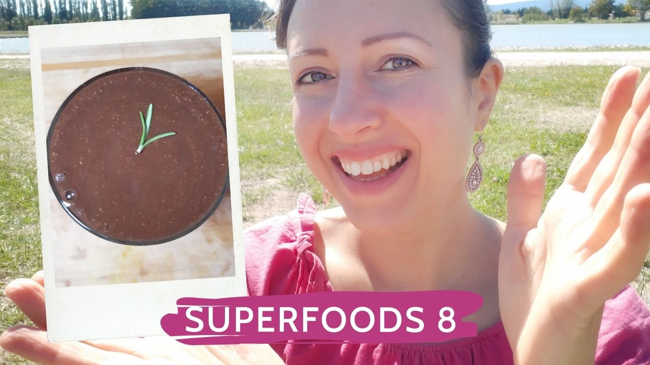 Carob delight with hazelnuts or Superfoods Series episode 8