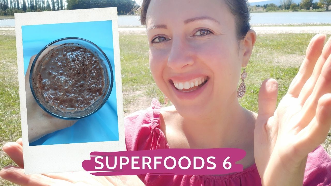 Chia seeds love my tummy ou Superfoods Series episode 6
