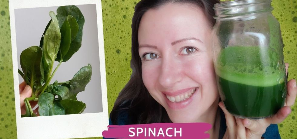 Iron deficient? Spinach juice to the rescue!