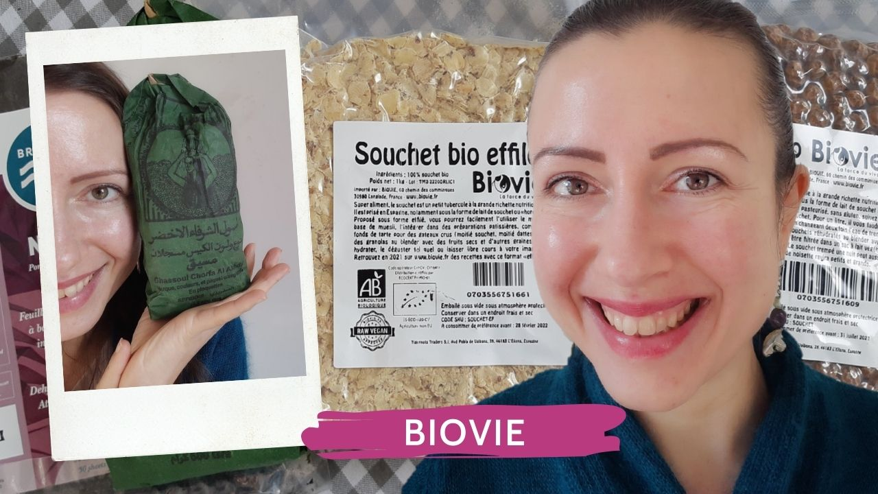 Unboxing Biovie with tiger nuts rhassoul and nori