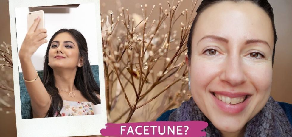 Facetune and mental health
