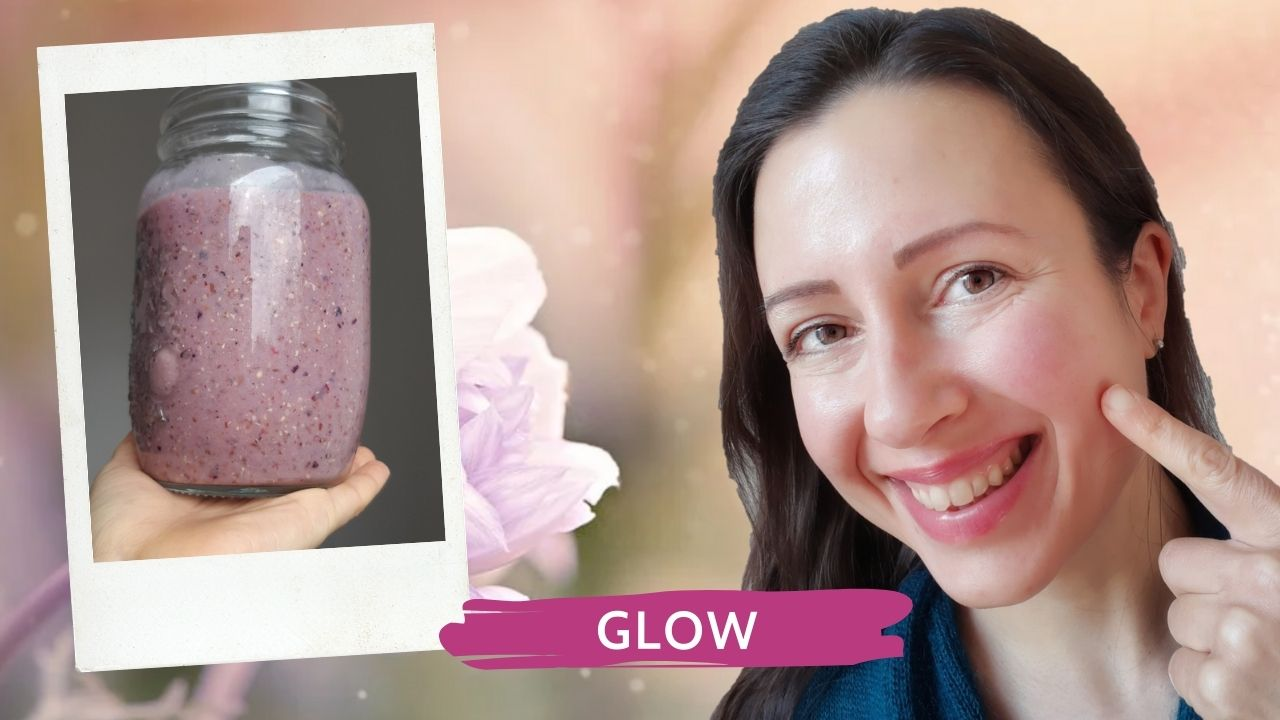A tasty smoothie for glowing skin