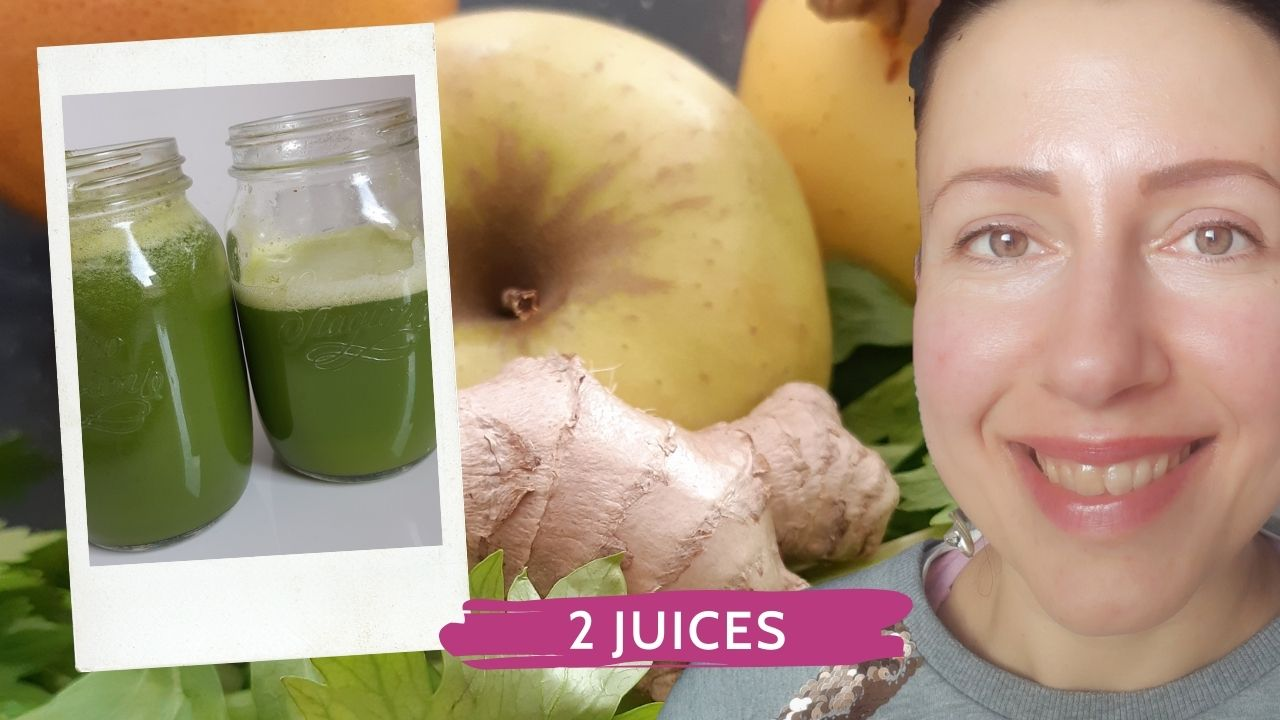 My two favorite green juices