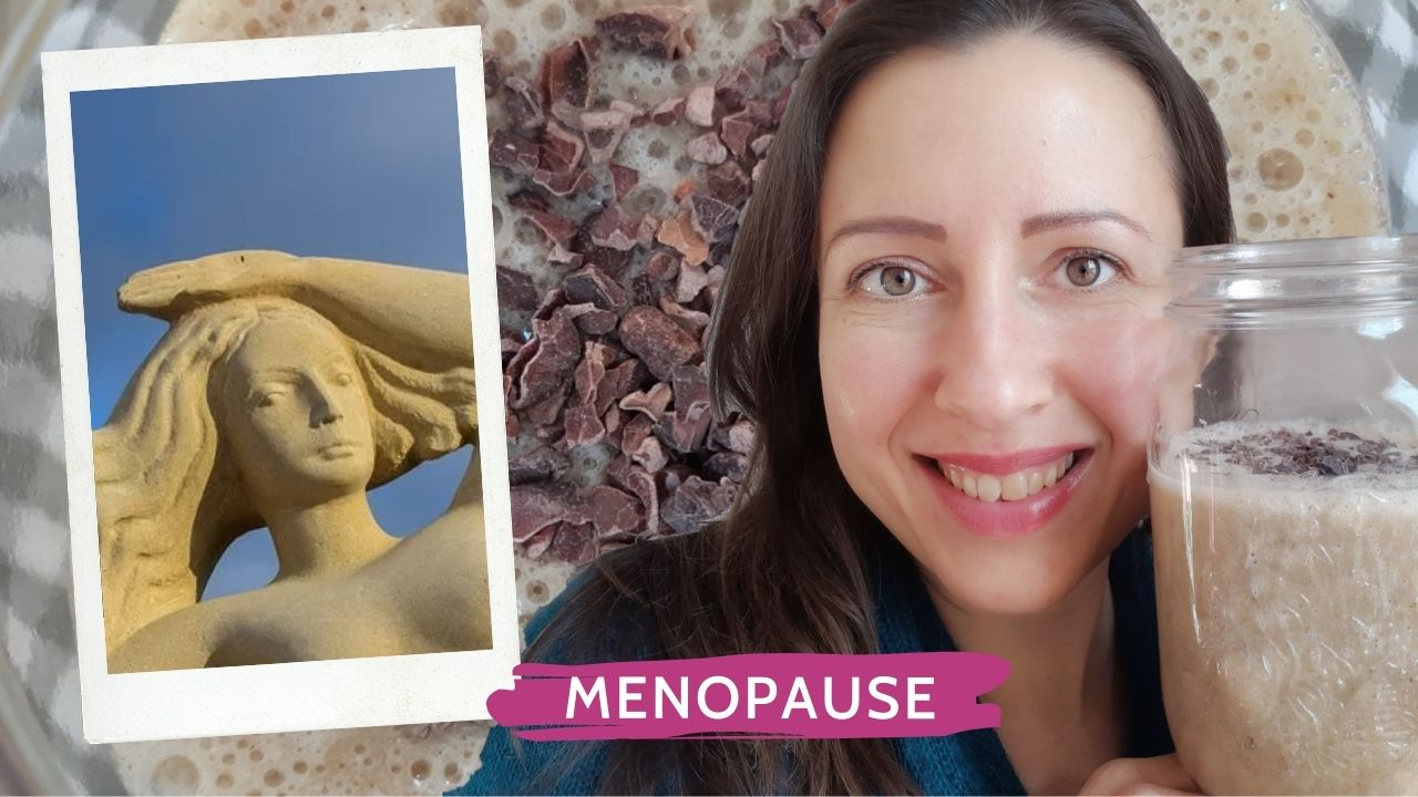 Menopause smoothie for beautiful goddesses