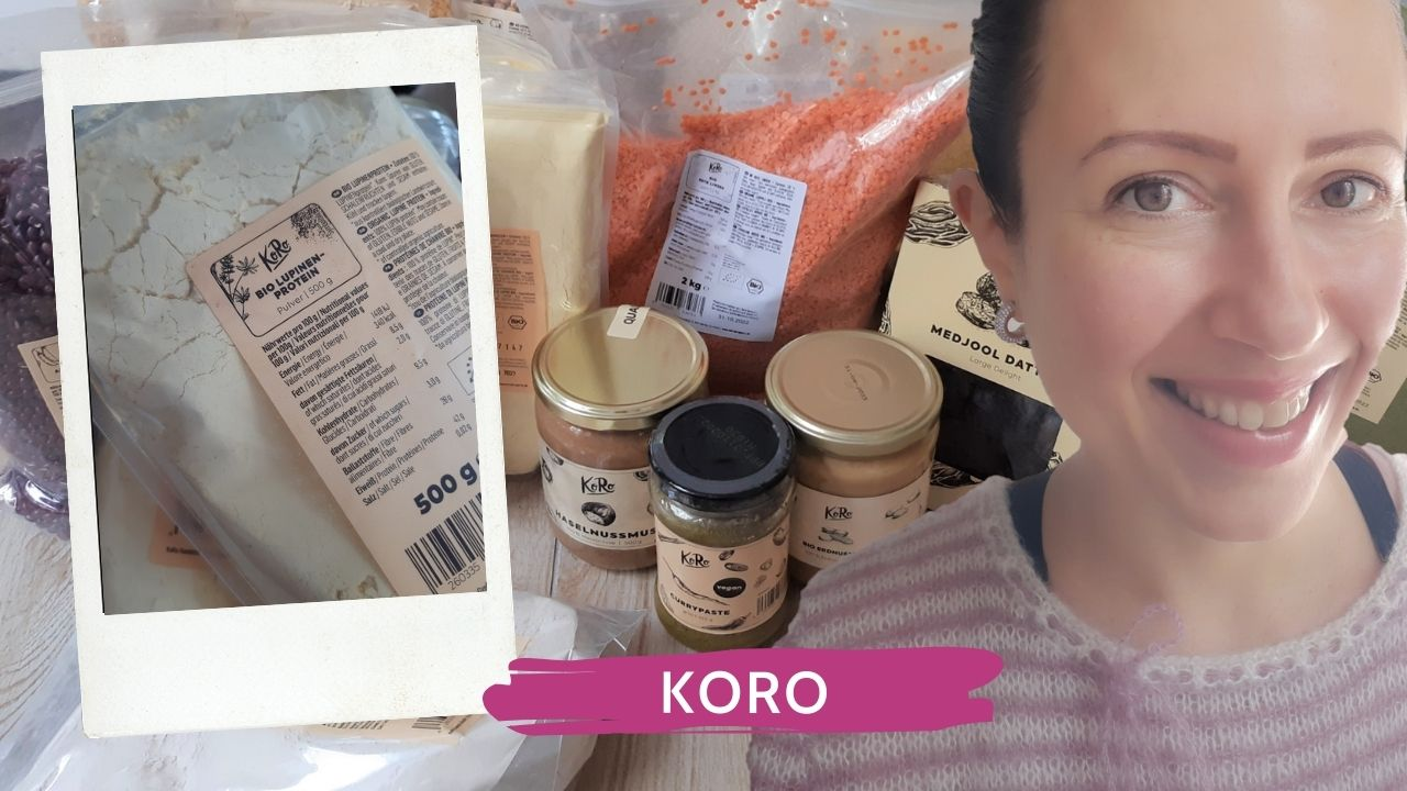 KoRo Unboxing or healthy staple food