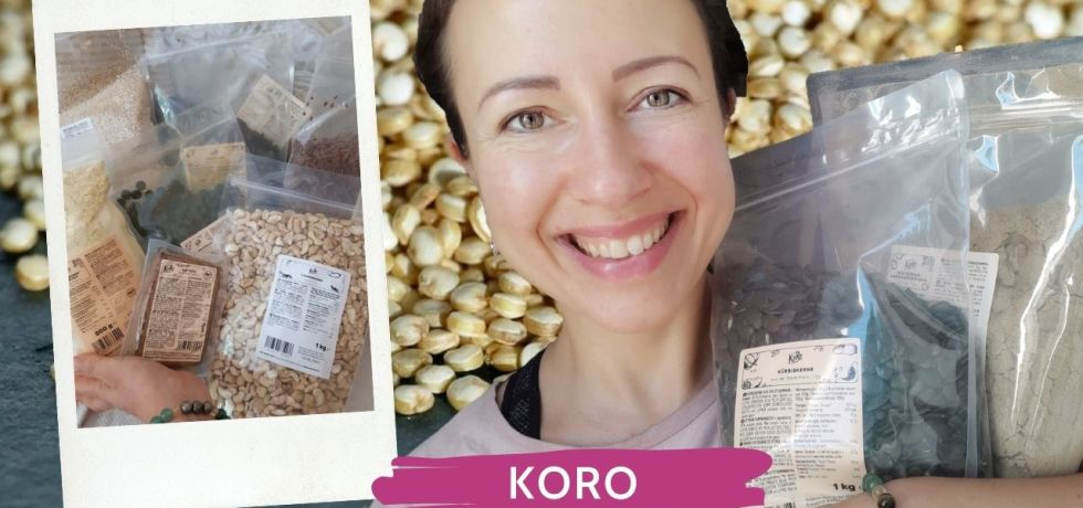 Koro Unboxing or quality food in bulk